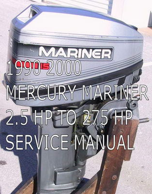 Pay for 1990 TO 2000 MERCURY MARINER  SERVICE MANUAL PDF DOWNLOAD