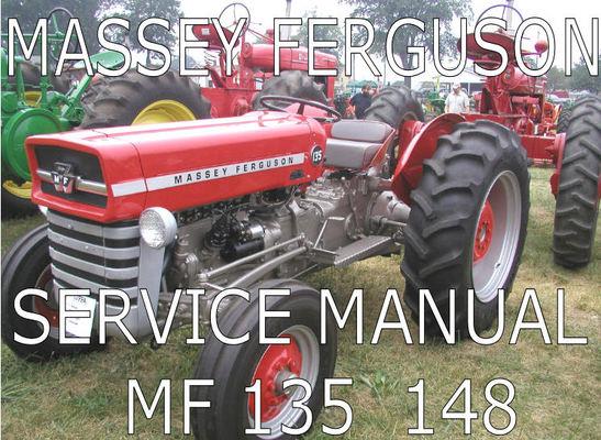 massey ferguson 135 shop manual