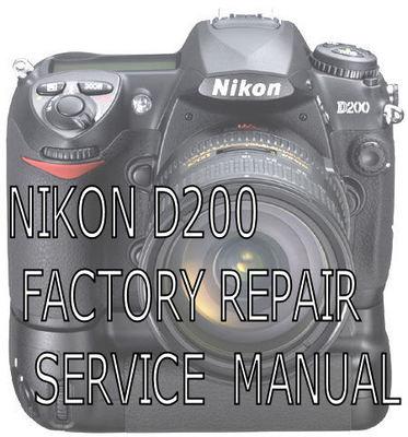 Nikon d50 service manual & repair guide