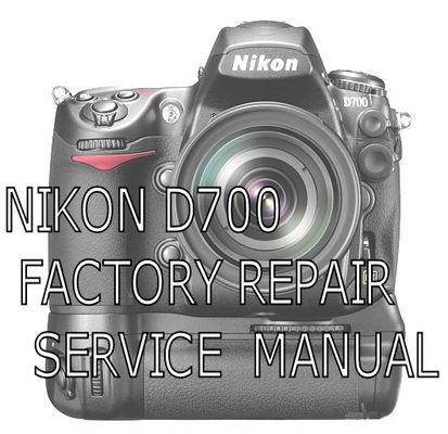 nikon d700 service repair manual guide pdf download download manu rh tradebit com Nikon D80 Nikon D80