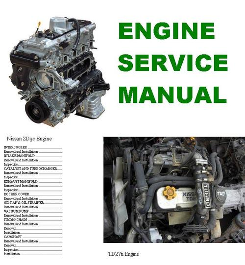 engine manual nissan td27ti and zd30 download manuals automobile workshop manual book automobile workshop manual pdf