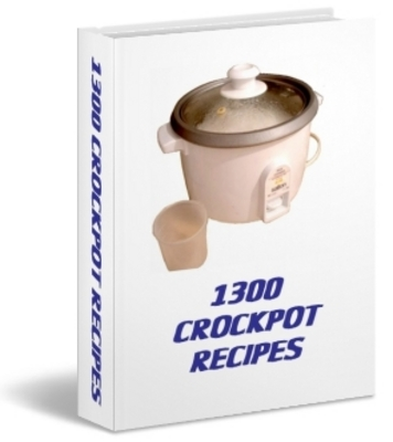 Pay for 1300 crockpot recipes