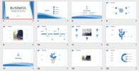 Thumbnail Management Summary PowerPoint Template (pptx)