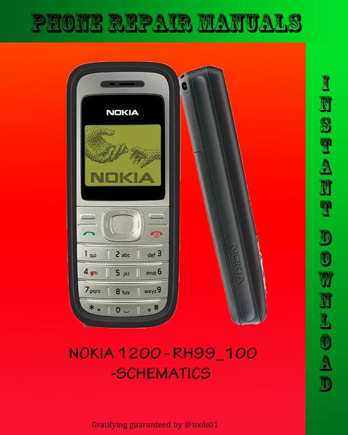 nokia 1200 schematics download manuals technical rh tradebit com