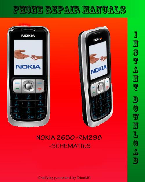 Pay for Nokia 2630 SCHEMATICS