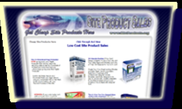 Pay for Misty Blue Template Collection Minisite Graphics MRR
