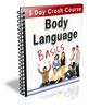 Thumbnail Body Language Basics - 5 Day Crash Course PLR
