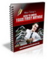 Thumbnail how to write your first articles