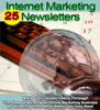 Thumbnail Internet Marketing 25 Newsletters MRR