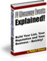 Thumbnail JV Giveaway Events Explained. Unrestricted PLR