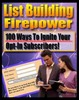 Thumbnail list building fire power with MRR
