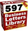 Thumbnail  597 Business Letters Library with Master Resell Rights