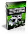 Thumbnail Breakthrough Sales Solutions with PLR