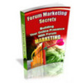 Thumbnail Forum Marketing Secrets With Private Label Rights