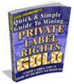 Thumbnail Mining PLR Gold with Master Resell Rights
