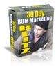 Thumbnail 30 Days Bum Marketing Blitz with MRR