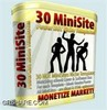 Thumbnail 30 Minisite Templates with Master Resell Rights