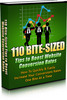 Thumbnail 110 Bite Sized Tips To Boost Website Conversion Rates