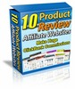 Thumbnail 10 Products Review Affiliate Websites with MRR