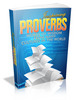 Thumbnail Inspiring Proverbs with Master Resell Rights