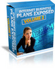 Thumbnail Internet Business Plans Exposed - Volume1and 2 with MRR