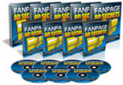 Thumbnail Fanpage Ad Secrets Video Series With Master Resale Rights