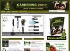 Thumbnail Gardening Zone Niche Blog with PLR