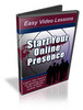 How to Start Your Online Presence Instruction Video