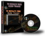 Thumbnail 70 Royalty Free Music Tracks with PLR