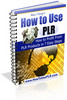 Thumbnail How to Use PLR with PLR