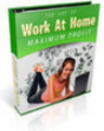 Thumbnail Work At Home For Maximum Profits with PLR