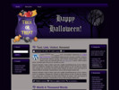 Thumbnail 3 Halloween Template  Blogger, HTML & WordPress Theme -MRR