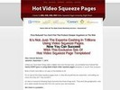 Thumbnail Video Squeeze Page Software and Video with MRR