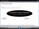 Thumbnail Countdown Page Generator - Software & Video