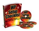 Thumbnail WP Setup Checklist - Videos & Ebook with MRR