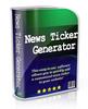 Thumbnail News Ticker Generator - Software & Video