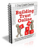 Thumbnail Building Trust Online - Crash Course with PLR