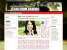 Thumbnail Ballroom Dancing Theme - WordPress & HTML Theme with PLR