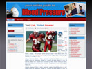 Thumbnail Blood Pressure Theme - WordPress & HTML Theme with PLR