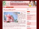 Thumbnail Bridal Accessories Theme - WordPress & HTML Theme with PLR