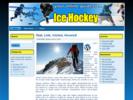 Thumbnail Ice Hockey Theme  PLR - WordPress & HTML Theme with PLR