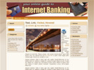 Thumbnail Internet Banking Theme - WordPress & HTML Theme with PLR