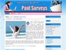 Thumbnail Paid Surveys Theme - WordPress & HTML Theme with PLR