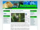Thumbnail Pet Grooming Theme - WordPress & HTML Theme with PLR