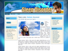 Thumbnail Sleep Disorder Theme - WordPress & HTML Theme with PLR