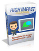 Thumbnail High Impact Communication - Ebook with MRR