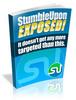 Thumbnail StumbleUpon Exposed - Videos & Audio Ebook with PLR