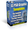 Thumbnail EZ PSD Graphic Templates - Graphics with MRR