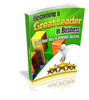 Thumbnail Becoming a Great Leader in Business - Ebook with MRR