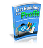 Thumbnail List Building for Profit - Ebook with MRR